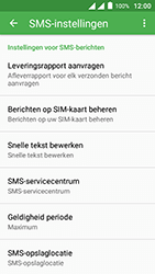 Alcatel Pixi 4 (5) - SMS - handmatig instellen - Stap 7