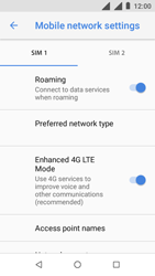 Nokia 1 - Internet - Disable data roaming - Step 6