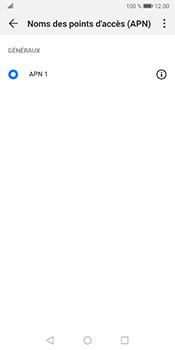 Huawei Mate 10 Pro - Android Pie - Internet et roaming de données - Configuration manuelle - Étape 7