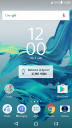 Sony Xperia XZ (F8331) - Wi-Fi - Connect to Wi-Fi network - Step 1