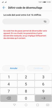 Huawei P20 - Sécuriser votre mobile - Activer le code de verrouillage - Étape 7