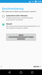 Sony Xperia Z5 (E6653) - Android Nougat - E-Mail - Konto einrichten - Schritt 19
