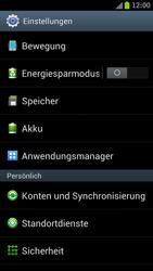 Samsung Galaxy S III LTE - Apps - Eine App deinstallieren - Schritt 4