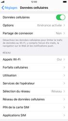 Apple iPhone 7 - iOS 13 - Internet - Utilisation à l