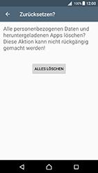 Sony Xperia X - Fehlerbehebung - Handy zurücksetzen - 2 / 2