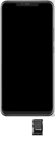 Huawei Mate 20 Pro - Toestel - Simkaart plaatsen - Stap 4