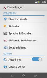 Sony Xperia E1 - Fehlerbehebung - Handy zurücksetzen - Schritt 6
