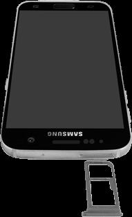 Samsung Galaxy S7 - Android Nougat - SIM-Karte - Einlegen - Schritt 3