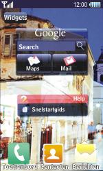 Samsung S8500 Wave - handleiding - download gebruiksaanwijzing - stap 1