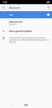 Nokia 8-1-dual-sim-ta-1119 - Bluetooth - Aanzetten - Stap 7