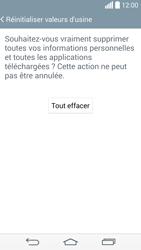 LG G3 - Téléphone mobile - Réinitialisation de la configuration d