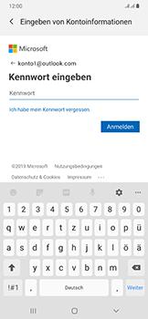 Samsung Galaxy A50 - E-Mail - 032c. Email wizard - Outlook - Schritt 8