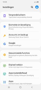 Samsung Galaxy A20e - apps - apps afsluiten - stap 4