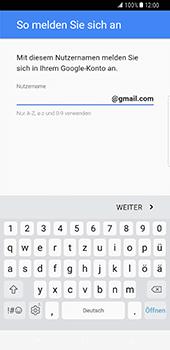 Samsung Galaxy S8 Plus - Apps - Konto anlegen und einrichten - 1 / 1