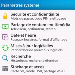 BlackBerry Q10 - Logiciels - Installation de mises à jour - Étape 4