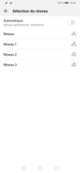 Huawei P30 - Réseau - Sélection manuelle du réseau - Étape 9