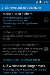 Samsung Galaxy Young 2 - Fehlerbehebung - Handy zurücksetzen - 7 / 11