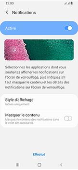 Samsung Galaxy A40 - Sécuriser votre mobile - Activer le code de verrouillage - Étape 11