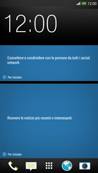 HTC One Max - Dispositivo - Come eseguire un soft reset - Fase 1