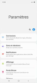 Samsung Galaxy A51 - Internet et roaming de données - Comment vérifier que la connexion des données est activée - Étape 4