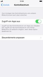 """Apple iPhone 8 - iOS 11 - Nicht stören – Sicheres Fahren – """"Do Not Disturb while Driving"""" aktivieren (für Fahrer) - 13 / 17"""