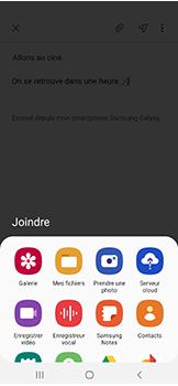 Samsung Galaxy A40 - E-mails - Envoyer un e-mail - Étape 13