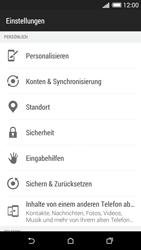 HTC Desire 620 - Fehlerbehebung - Handy zurücksetzen - 6 / 11