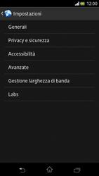 Sony Xperia V - Internet e roaming dati - Configurazione manuale - Fase 21