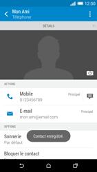 HTC Desire 816 - Contact, Appels, SMS/MMS - Ajouter un contact - Étape 19