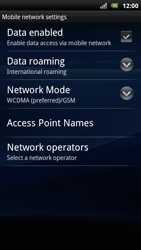 Sony Xperia Arc S - MMS - Manual configuration - Step 8