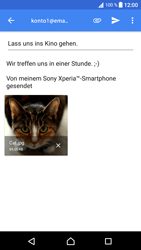 Sony Xperia XA1 - E-Mail - E-Mail versenden - 16 / 18