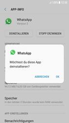 Samsung Galaxy A5 (2016) - Android Nougat - Apps - Eine App deinstallieren - Schritt 7