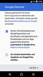 Sony Xperia X Performance - Apps - Konto anlegen und einrichten - 17 / 22