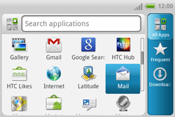 HTC A810e ChaCha - Email - Manual configuration - Step 3