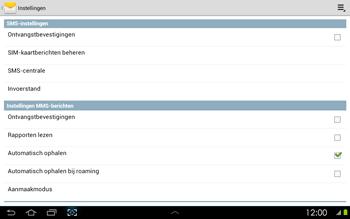 Samsung P5100 Galaxy Tab 2 10-1 - SMS - handmatig instellen - Stap 5