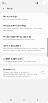 Samsung Galaxy S10 - Mobile phone - Resetting to factory settings - Step 6