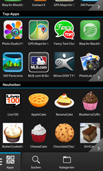 BlackBerry Z10 - Apps - Herunterladen - 11 / 21
