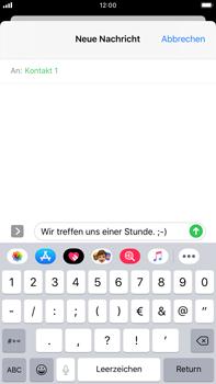 Apple iPhone 8 Plus - iOS 13 - MMS - Erstellen und senden - Schritt 12