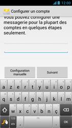 Acer Liquid Z5 - E-mail - Configuration manuelle - Étape 6