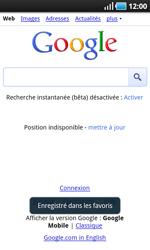 Samsung I9000 Galaxy S - Internet - navigation sur Internet - Étape 6