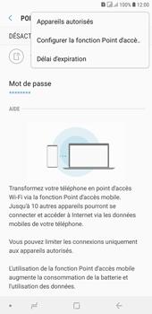 Samsung Galaxy J4+ - Internet et connexion - Partager votre connexion en Wi-Fi - Étape 8