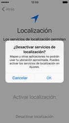 Apple iPhone SE iOS 10 - Primeros pasos - Activar el equipo - Paso 10