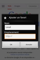 Alcatel OT-983 - Internet et roaming de données - Navigation sur Internet - Étape 11
