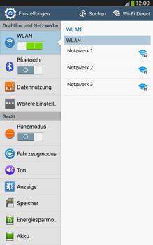 Samsung Galaxy Tab 3 8-0 LTE - WiFi - WiFi-Konfiguration - Schritt 5