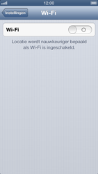 Apple iPhone 5 - WiFi - Handmatig instellen - Stap 5
