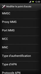 Sony Xperia J - Internet et roaming de données - Configuration manuelle - Étape 13