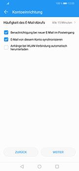 Huawei Honor Play - E-Mail - Konto einrichten (yahoo) - Schritt 8