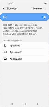 Samsung galaxy-xcover-pro-sm-g715fn - Bluetooth - Headset, carkit verbinding - Stap 7