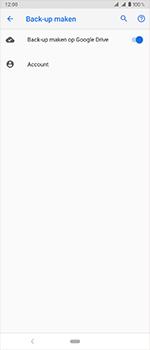 Sony Xperia 1 - Beveiliging en privacy - maak een backup met je account - Stap 8