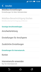 HTC One A9 - Anrufe - Rufumleitungen setzen und löschen - 5 / 9